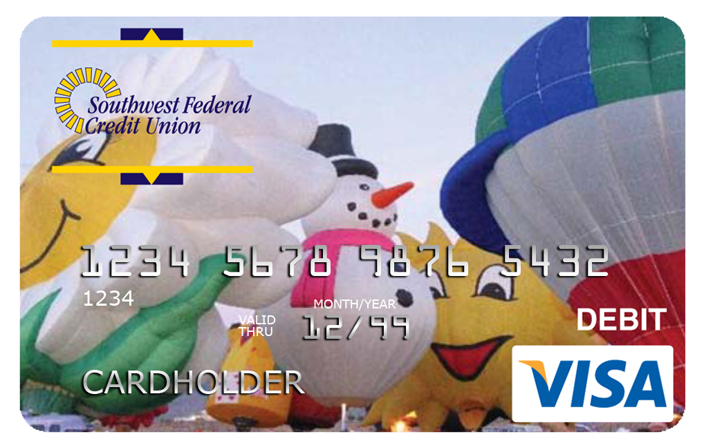 The VISA Debit Card offers great benefits and no debit card fee.