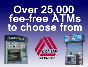 Over 25,000 ATMs